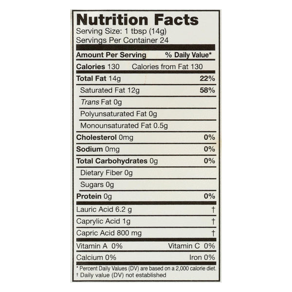 Carrington Farms Coconut Oil - Case Of 6 - 12 Fl Oz.