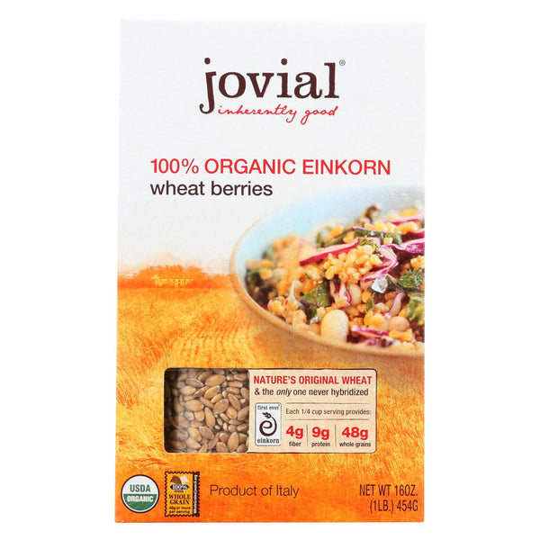 Jovial - Wheat Berries - Organic - Einkorn - 16 Oz - Case Of 12