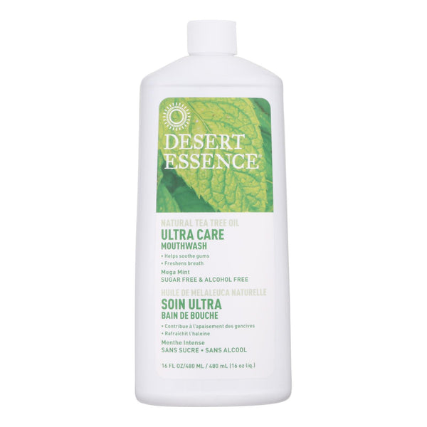 Desert Essence - Mouthwash - Tea Tree U-care Mint - 16 Fl Oz