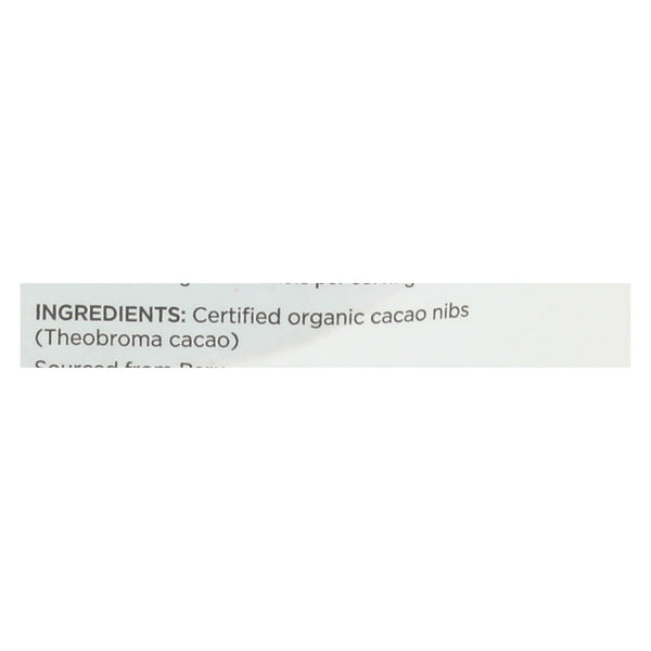 Navitas Naturals Cacao Nibs - Organic - Raw - 4 Oz - Case Of 12