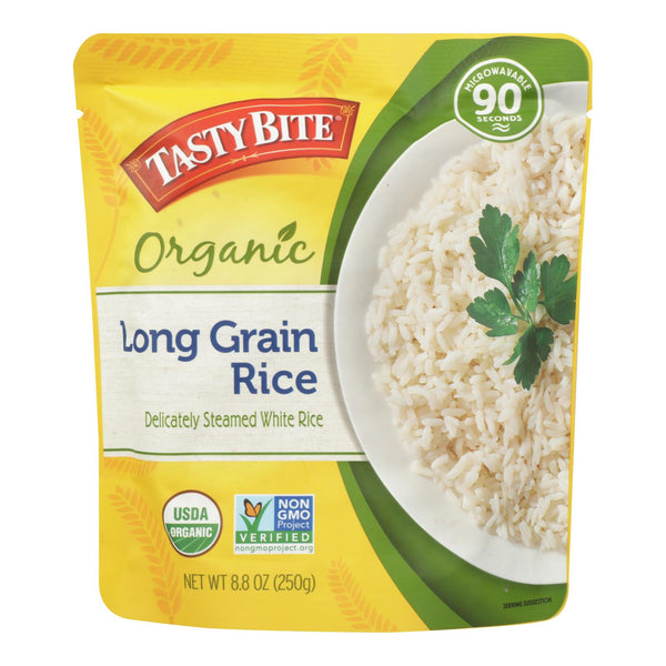 Tasty Bite Rice - Organic - Long-grain - 8.8 Oz - Case Of 6
