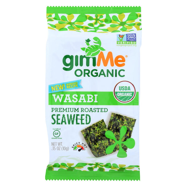 Gimme Organic Roasted - Wasabi - Case Of 12 - 0.35 Oz.