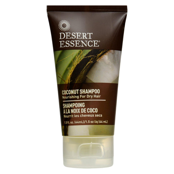 Desert Essence - Shampoo - Nourishing - Coconut - Trvl - 1.5 Fl Oz - 1 Case