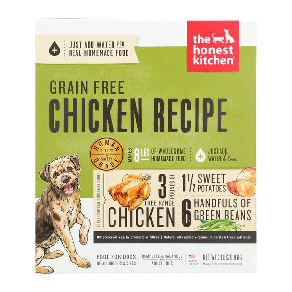 The Honest Kitchen Force - Grain Free Chicken Dog Food - Case Of 6 - 2 Lb.