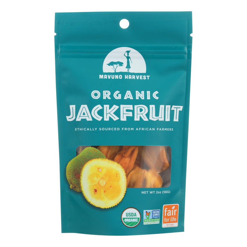 Mavuno Harvest Organic Dried Fruits - Jackfruit - Case Of 6 - 2 Oz.