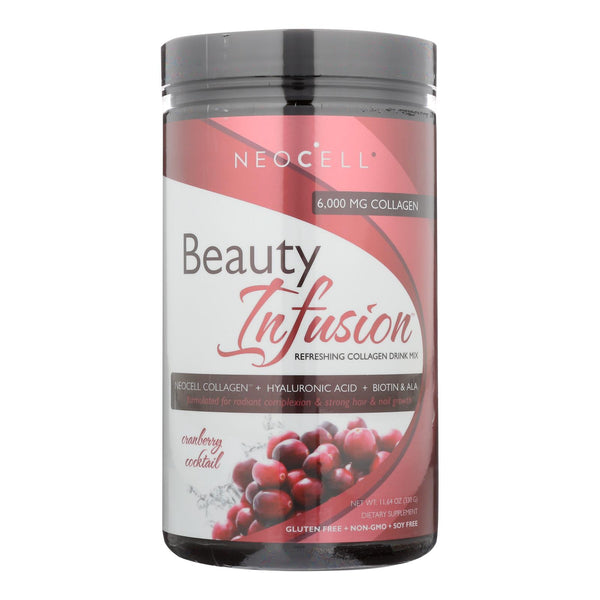 Neocell Laboratories Collagen Drink Mix - Beauty Infusion - Cranberry Splash - 11.64 Oz