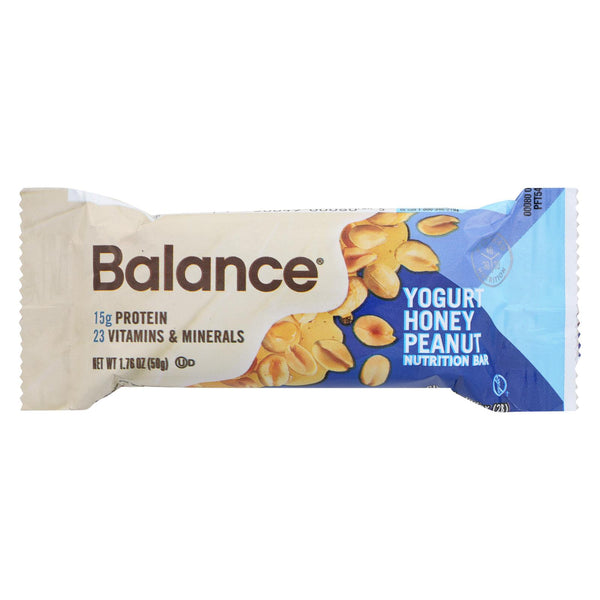 Balance Bar - Yogurt Honey Peanut - 1.76 Oz - Case Of 6