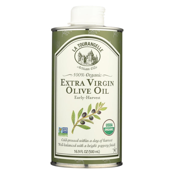 La Tourangelle Organic Extra Virgin Olive Oil - Case Of 6 - 16.9 Fl Oz.