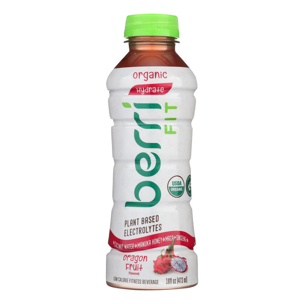 Berri Pro Dragon Fruit Plant-based Fitness Beverage  - Case Of 12 - 16 Oz