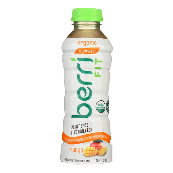 Berri Pro Mango Plant-based Fitness Beverage  - Case Of 12 - 16 Oz