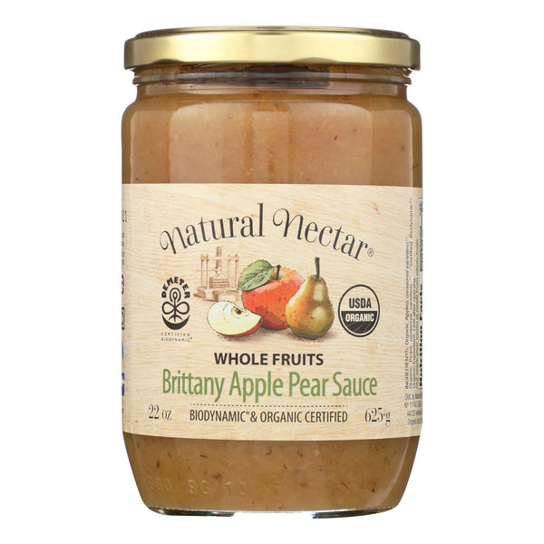 Natural Nectar Brittany Sauces - Apple - Case Of 6 - 22.2 Oz.