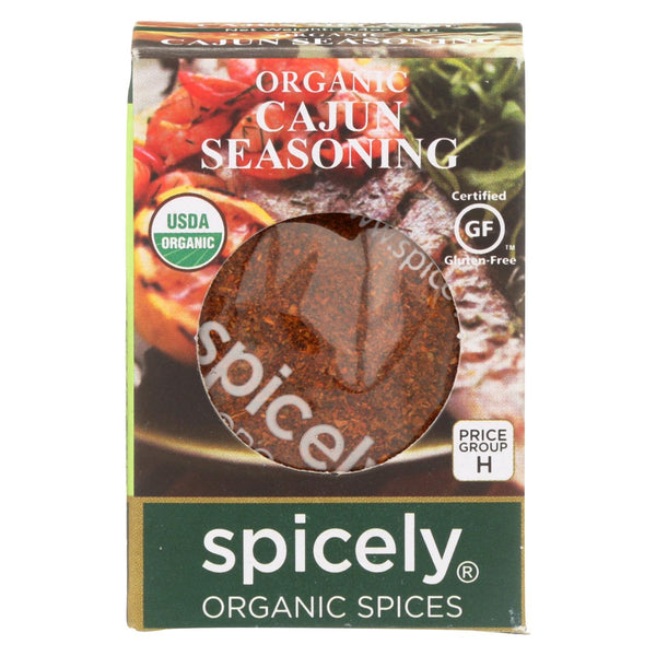 Spicely Organics - Organic Cajun Seasoning - Case Of 6 - 0.4 Oz.