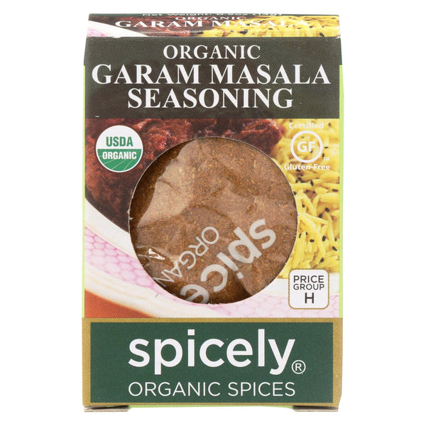 Spicely Organics - Organic Garam Masala Seasoning - Case Of 6 - 0.5 Oz.