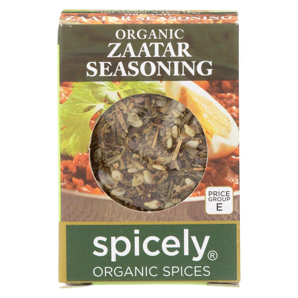 Spicely Organics - Organic Zaatar Seasoning - Case Of 6 - 0.35 Oz.