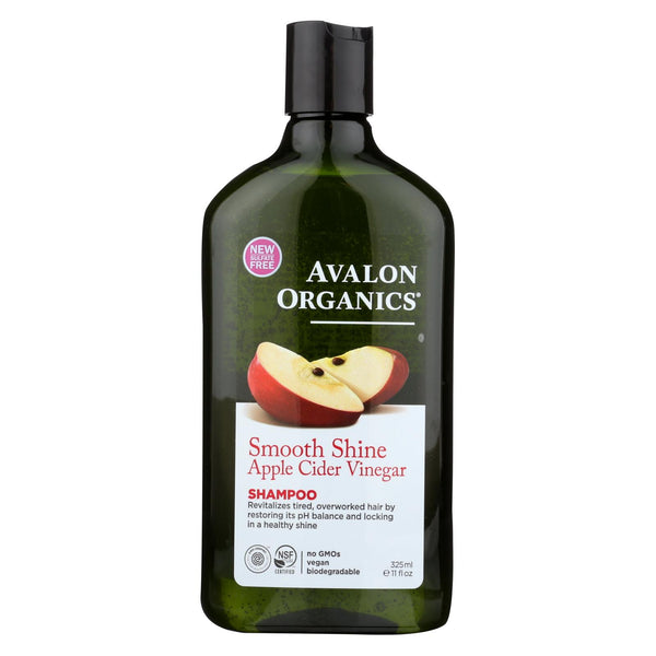 Avalon Shampoo - Smooth Skin - Apple Cider Vinegar - 11 Fl Oz