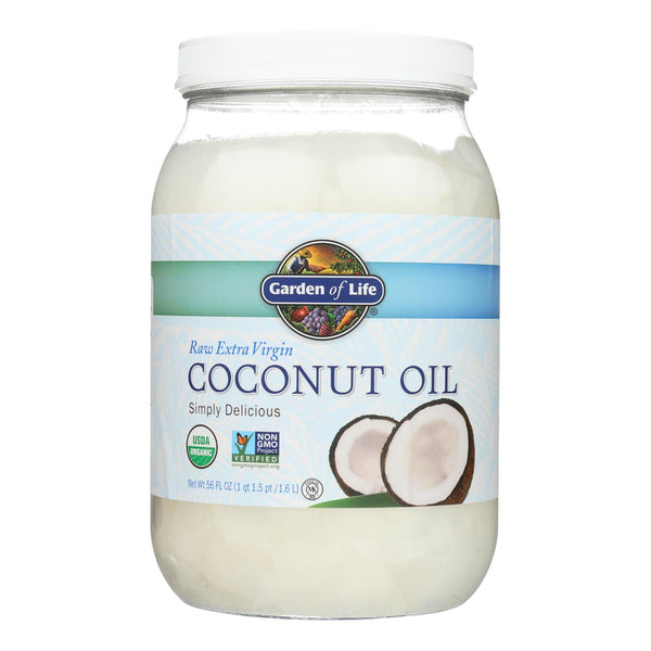 Garden Of Life Oil Coconut - Organic - Raw Extra Virgin - Case Of 4 - 56 Fl Oz