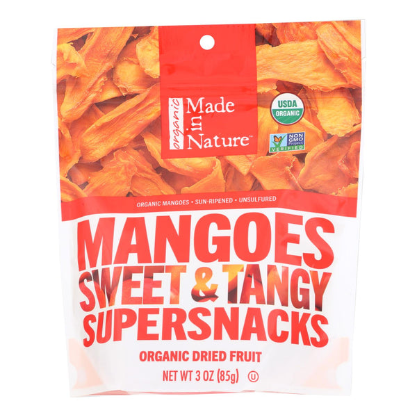 Made In Nature Mangoes Dried Fruit  - Case Of 6 - 3 Oz
