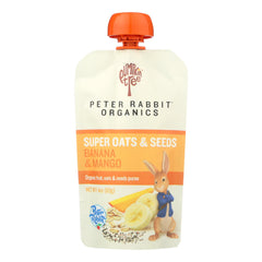 Peter Rabbit Organics - Oats&seeds Bana&mango - Case Of 10 - 4 Oz