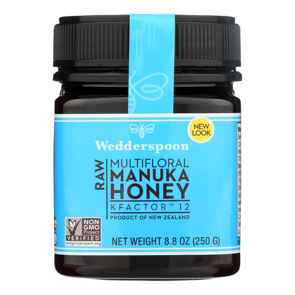 Wedderspoon Manuka Honey, Kfactor 12,  - Case Of 6 - 8.8 Oz