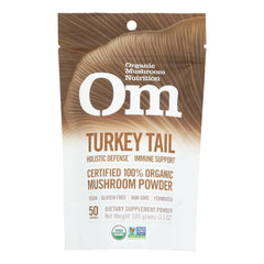 Om - Trkey Tail Organic Powder 100grm - 1 Each - 3.5 Oz