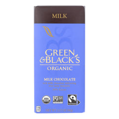 Green & Black's - Chocolate Milk - Case Of 10 - 3.17 Oz