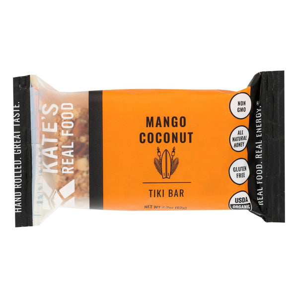 Kate's Real Food - Bar Organic Tiki Mango - Case Of 12 - 2.2 Oz
