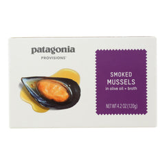 Patagonia - Mussels Smoked - Case Of 10 - 4.2 Oz