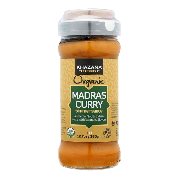 Khazana - Sim Sauce Madras Curry - Case Of 6 - 12.7 Oz
