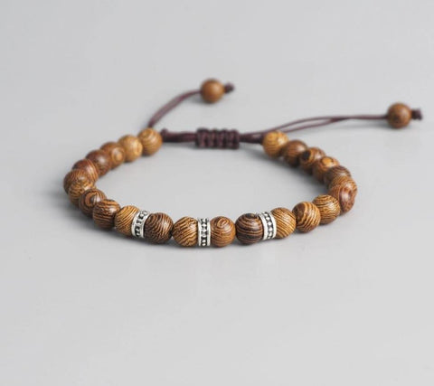 Bracelet-en-bois-tibetain-chance-reglable
