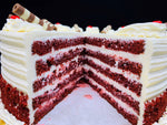 Load image into Gallery viewer, Red Velvet Cake with Cream Cheese Filling