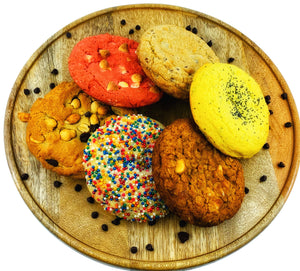 Freshly Baked Jumbo Cookie Assortment