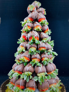 Chocolate-Covered Strawberry Tree