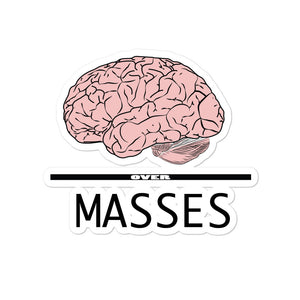 Mind over masses Bubble-free stickers