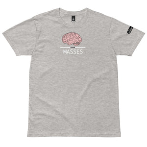 Mind Over Masses sternum staple tee