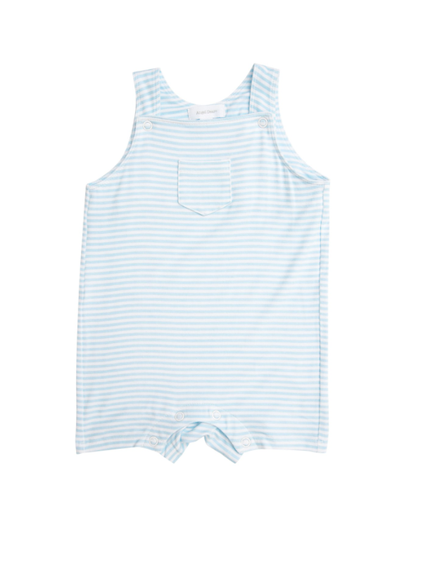 Puppy Play Overall Shortie, Blue