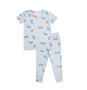 Puppy Play Lounge Wear Set, Blue