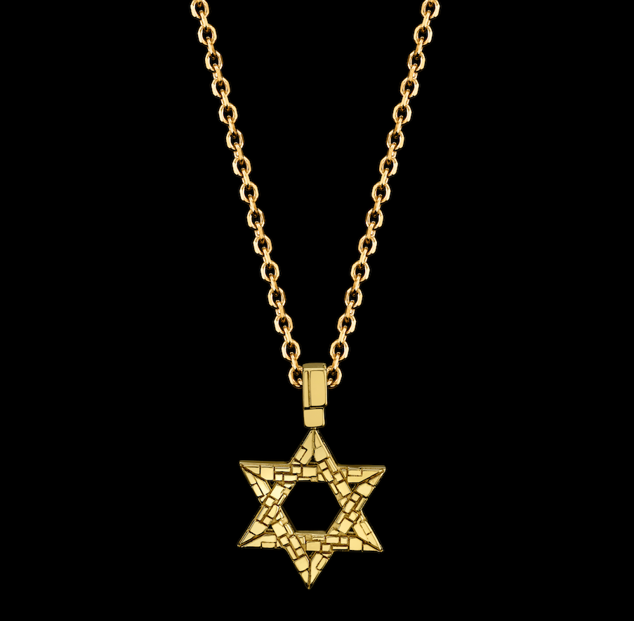 Signature Collection Small Star of David Necklace
