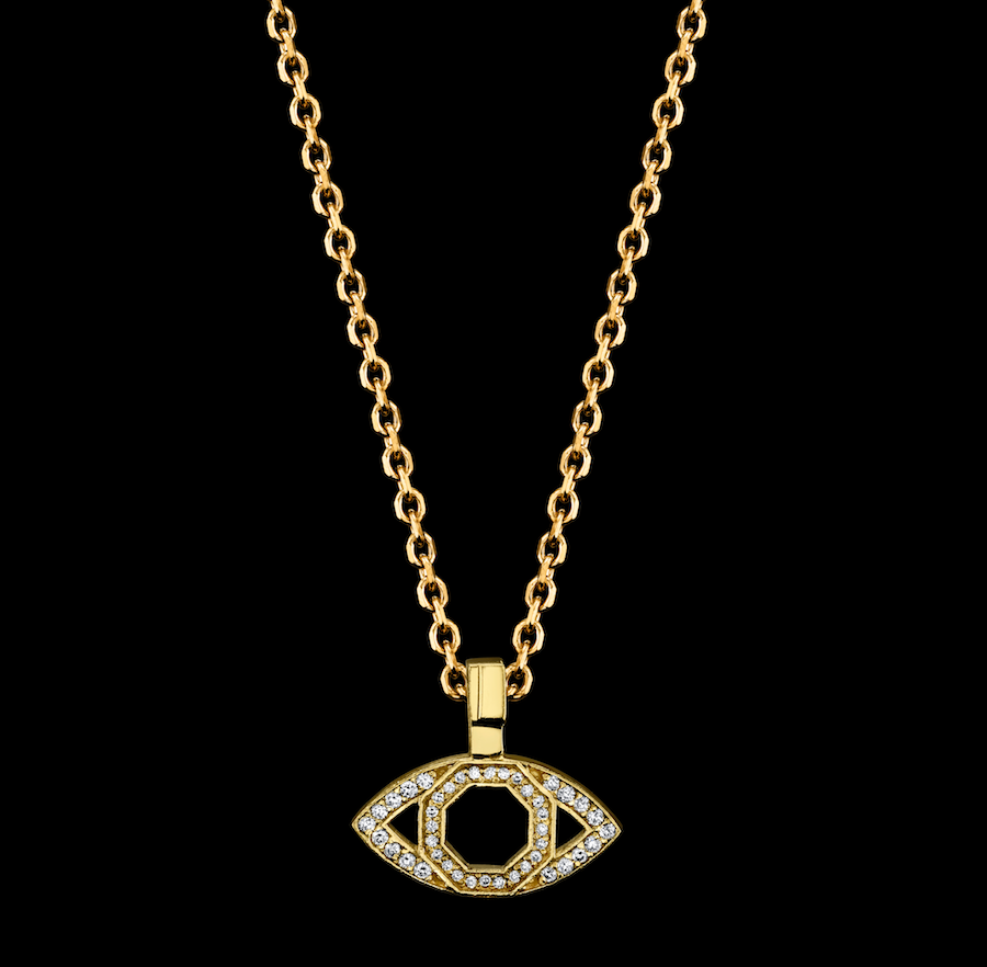 Signature Collection Small Evil Eye Necklace