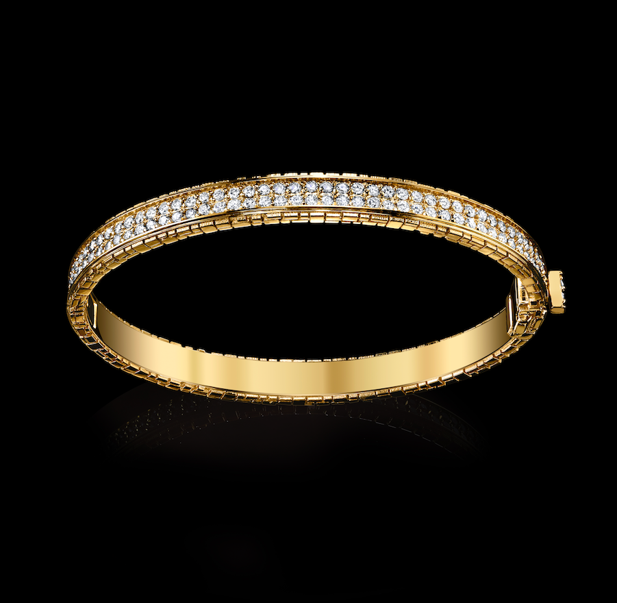 Signature Collection Double Row Bracelet with Diamonds