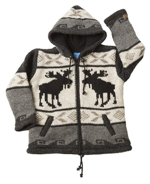 Kids Moose Cardigan