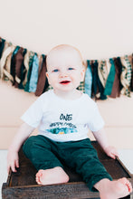 Load image into Gallery viewer, Little Explorer ONE Happy Camper Shirt, Camping First Birthday Clothes