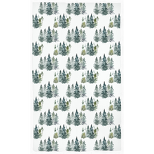 Load image into Gallery viewer, Pine Trees Curtain, Forest Nursery Decor - Majestic Forest