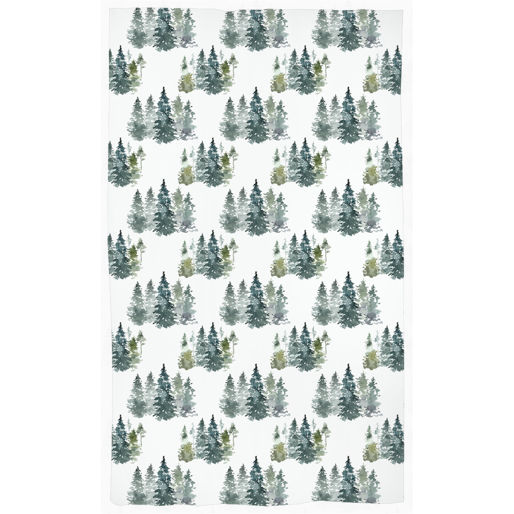 Majestic Forest Curtain, Forest Nursery Decor
