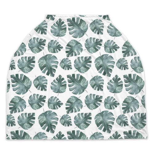 Baby Africa Monstera Car Seat Cover, Safari Nursing Cover