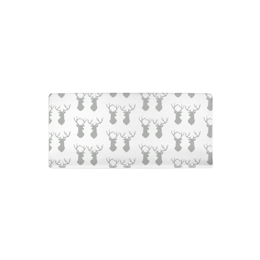 Deer Silhouettes Changing Pad Cover, Rustic Baby Bedding