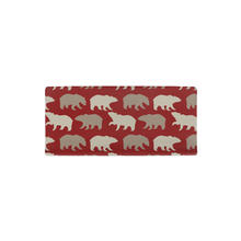 Load image into Gallery viewer, Red Bears Changing Pad Cover