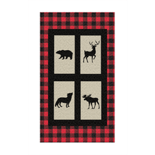 Load image into Gallery viewer, Into the Wood Plaid Rug, Lumberjack Nursery Decor