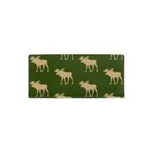 Load image into Gallery viewer, Green Moose Changing Pad Cover, Rustic Baby Bedding