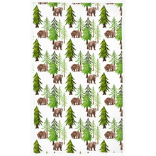 Load image into Gallery viewer, Into the Woods Curtain, Forest Nursery Decor