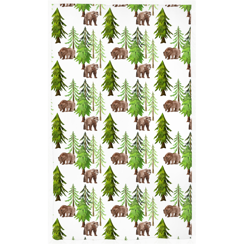 Into the Woods Curtain, Forest Nursery Decor